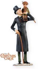 Amazon.com: EB Scrooge and Tiny Tim 2009 Hallmark Ornament: Home & Kitchen