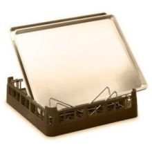 Vollrath Cocoa Open End Dish Rack, 19 3/4 inch Length -- 1 each. by Vollrath