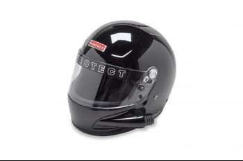 Pyrotect: Pro Airflow Black Side Forced Air Helmet