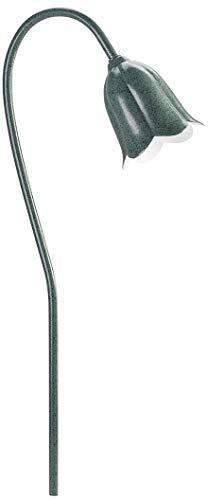 (Kichler 15349MST Tulip Path & Spread 1-Light 12V, Textured Midnight Spruce)