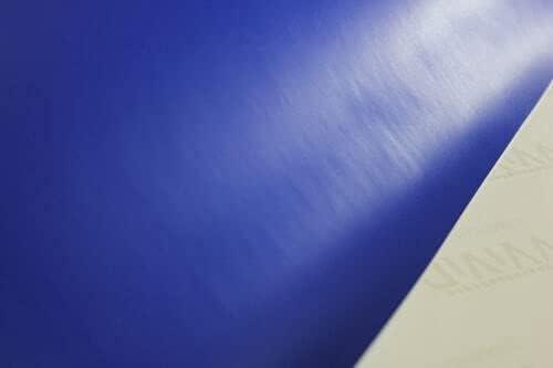 Matte Dark Blue 4ft x 5ft Car Wrap Vinyl Roll with Air Release