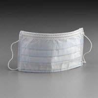 3M Medical Products 1826 Standard Earloop Mask Blue 50/Bx