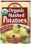 Edward & Sons Home Style Organic Mashed Potatoes -- 3.5 oz