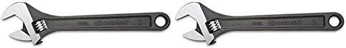 Carded AT26VS 1 Crescent 6 Adjustable Black Oxide Wrench