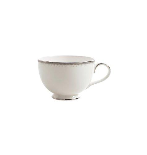 Waterford Platinum Espresso Cups - Dentelle 7.4 oz. Teacup