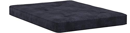 Classic Brands Classic Black 8-Inch Futon Mattress with Independently Encased Innerspring Coils, Full