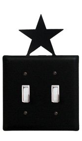 ESS-45 Star Double Switch Electric Cover