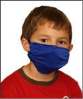 Breathe Healthy Dust & Allergy Mask; Comfortable, Reusable - Kids Flu Mask - Protection from Dust, Pollen, Allergens, & Flu Germs; Colorful Paws Design (Child/Youth Size)