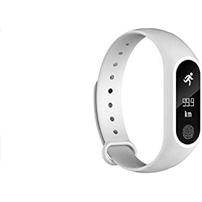 NFGGLM Bracelet Heart Rate Monitor Pedometer Smart band Waterproof Bluetooth Smart Wristband Estimated Price £30.74 -