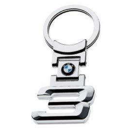 TGH (Ser3) Llavero Cromado Motorsport con Logo Serie 3 BMW