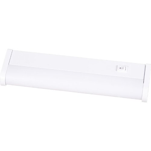 Progress Lighting P7020-30EBWB White Hide-A-Lite III Contemporary / Modern Low-Profile Fluorescent 12 Inch Under Cabinet Fixture from the Hide-A-Lite III Collection P7020 (Progress Under Cabinet Light)