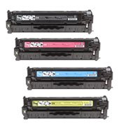 Generic Remanufactured Toner Cartridge Replacement for HP CC530A ( 4-Pack )