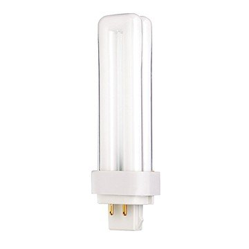 (Pack of 10) Satco S8332, 4100K 13-Watt G24q-1 Base T4 Quad 4-Pin Tube for Electronic and Dimming Ballasts, Compact Fluorescent Bulb