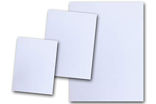 DCS Canvas Textured White Card Stock Wedding Cake - 20 Sheets - Matches Martha Stewart Wedding Cake - Great for Scrapbooking, Crafts, DIY Projects, Etc. (8.5 x 11) ()