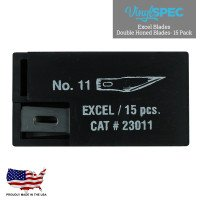 #11 Double Honed Blade Excel Blades 23011