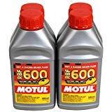 Motul (4 Pack) 100949 8068HL RBF 600 Factory Line Dot-4 100 Percent Synthetic Racing Brake Fluid - 500 ml ()