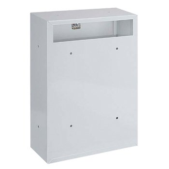 Rear Access Letter Box.Rottner Indoor White Rear Access Steel Post Box Post Box
