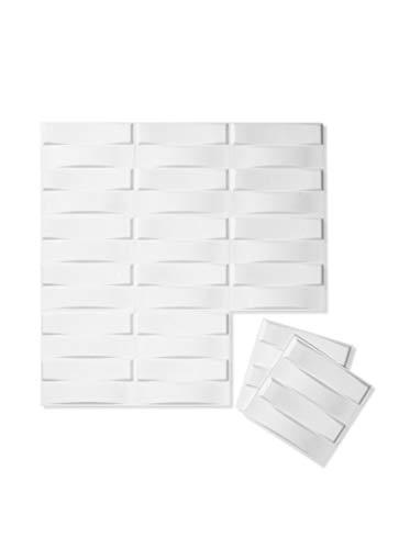 Inhabit Stitch Wall Flats - 3D Textured Wall Panels ()