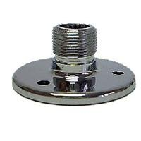 Microphone Mounting Flange (WindTech 8040 Microphone Stand Podium Mounting Flange with Screws, 1.75