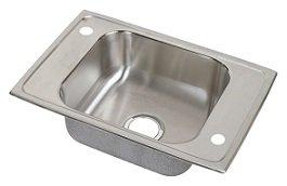 Elkay CDKAD2517 Celebrity Double Ledge Classroom Sink, Single Bowl, ADA Compliant, Sink Only - Stainless Steel Elkay Classroom Sinks