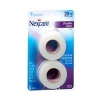 Flexible Tape Clear - 3m Nexcre Flex Clr FST Ad Size 2pack 3m Nexcre Flex Clear First Aid Tape 1 X 10yd 2pk