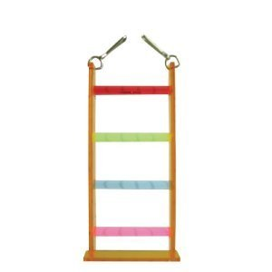 Vo-Toys Acrylic Four Step Ladder Bird Toy by Votoys