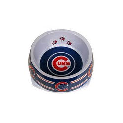 Sporty K9 MLB Chicago Cubs Pet Bowl, Large