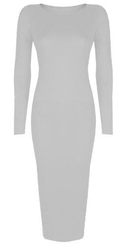 Baleza - Robe -  - Manches longues Femme -  Blanc - Blanc - Taille unique - Petite