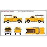 Ford Utility Trucks - HO 1960 Ford Utility Truck, Yellow