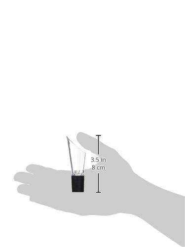 Quid MI Bar/ /Pompe A/érateur de vin 3x7,3x19 Noir et Transparent