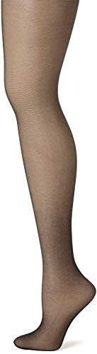 Hanes Silk Reflections Control Top Sheer Toe Pantyhose 2P_Jet_AB