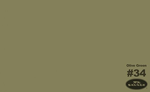 107 x 12yds Background Paper (#34 Olive Green)