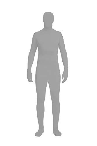 - Full Bodysuit Lycra Spandex Unisex Unitard Tights Suit Zentai Cosplay Costume (Medium, Grey)