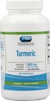 Vitacost Turmeric Extract -- 800 mg per serving - 200 Capsules by Vitacost Brand (Vitacost Turmeric Extract compare prices)
