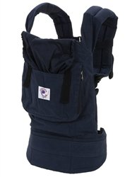 Ergobaby Organic Baby Carrier - Navy Midnight - One Size