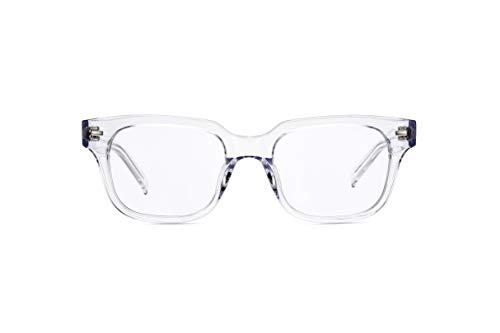 Boca Blu Blue Light Block Reading Glasses - Poseidon Anti-Eyestrain Computer Glasses, Gaming Unisex Eyewear - Acetate Frames, CR-39 Lenses - Magnification Strength 1 - Crystal Clear from Boca Blu