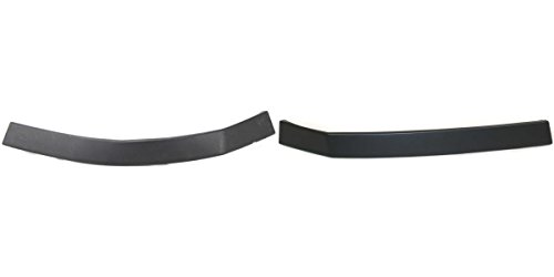 DAT AUTO PARTS Bumper Filler HEADLAMP MOLDING Set of Two Replacement for 04-14 Nissan Titan Paint to Match Front Left Driver Right Passenger Side Pair NI1088106 -