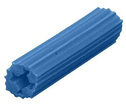 Package of 100 CRL 5//16 Hole 1-1//2 Length 14 or 1//4 Screw Expanding Plastic Screw Anchors