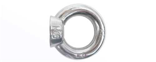 25 Ringmuttern Edelstahl A2 M8