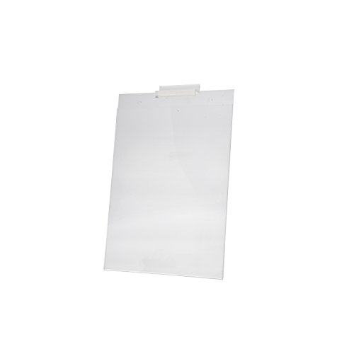 Marketing Holders Slatwall 8.5''w x 11''h Wall Mount Ad Frame Sign Holder Display (Pack of 12) by Marketing Holders