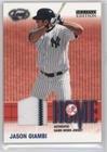 Jason Giambi (Baseball Card) 2004 Leaf Second Edition - Home/Away - Jerseys [Memorabilia] #H-5