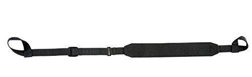 Ultimate Arms Gear Vanguard Hugger Black Shoulder Adjustable Padded Strap Holds 900 lbs with Standard Loops on the Ends Mossberg 500/535/590/835/Maverick 88 12/20 Gauge Shotgun