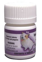 Tape Worm Tabs for Dogs (5 tablets), My Pet Supplies