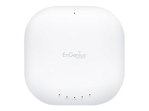 EnGenius Neutron Indoor Managed Ceiling-Mount AP IEEE 802.11AC Wireless Access Point, 5 Ghz, 2.40 Ghz - 4 x Internal Antennas (EWS350AP) by EnGenius