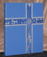 Ceremonial Binder - Blue with Silver Foil (1-inch Spine)