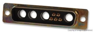 Itt Cannon D Sub Combo Connector DBM9W4SZ Db-9W4 Receptacle