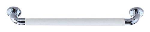シロクマ パッドニギリバー(60mm) 【H60】450mm クローム/アイボリ NO-800 (手すり) B009VD7CC6 【H60】450mm クローム/アイボリ クローム/アイボリ 【H60】450mm