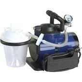 "Suction Machine - Includes 800 cc suction canister, 6' suction tube, 10"" suction canister tubing, hydrophobic filter, plastic elbow connector by Heavy Duty"