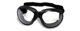 Paintball Deluxe Black - Global Vision Deluxe Eliminator Goggles (Black Frame/Clear Lens)