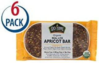 product image for Go Raw Real Organic Live Apricot Bar -- 1.8 oz Each / Pack of 6